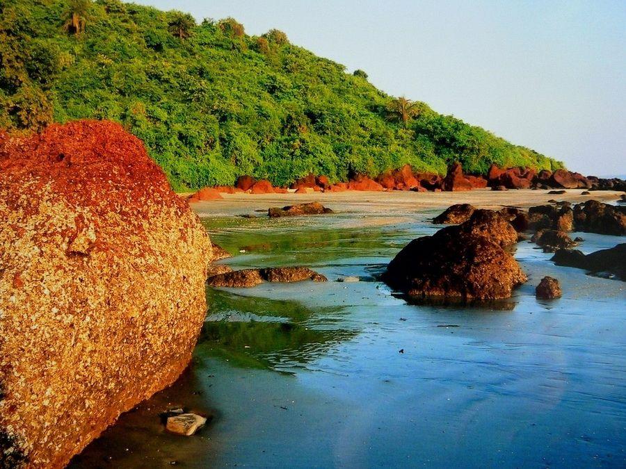 Фотография побережья Гоа
