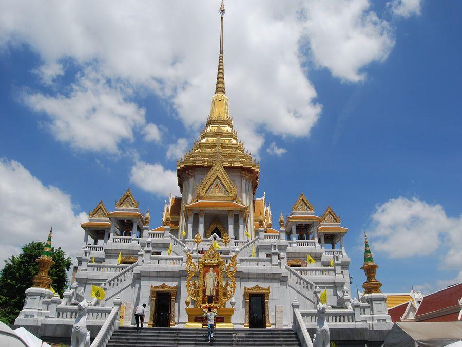 Храм Золотого Будды фотография Бангкока