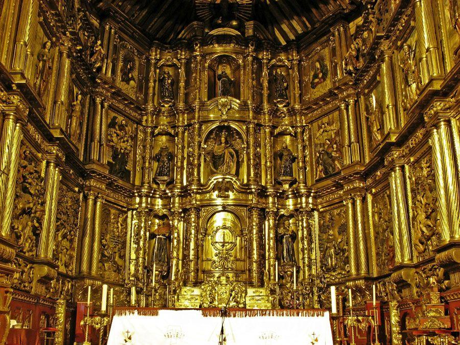 Золотая церковь Сан-Франциско фотография