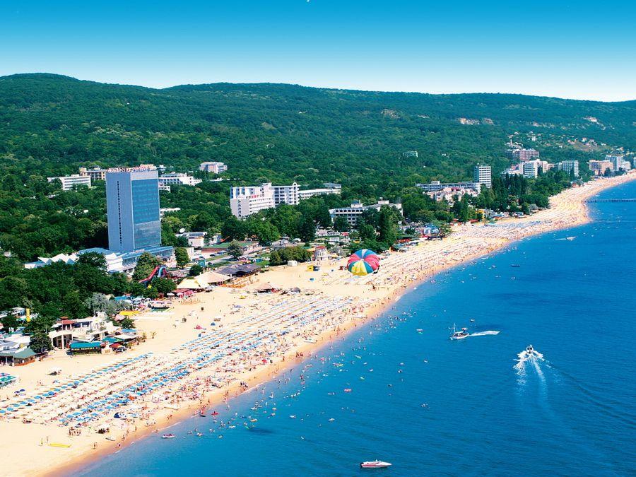 Золотые пески в Болгарии