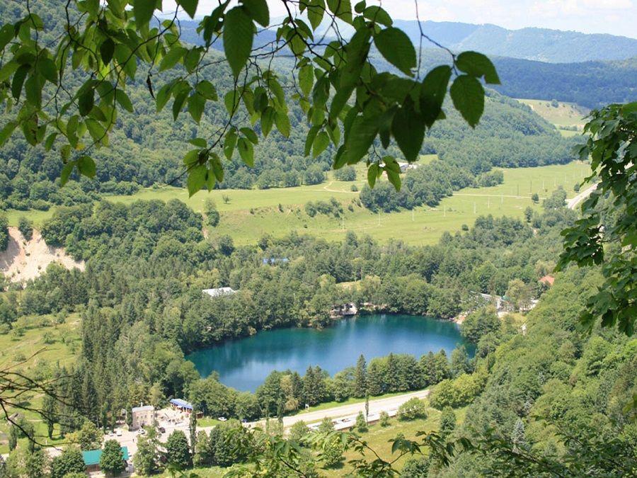 Фотография Голубых озер в Кабардино-Балкарии