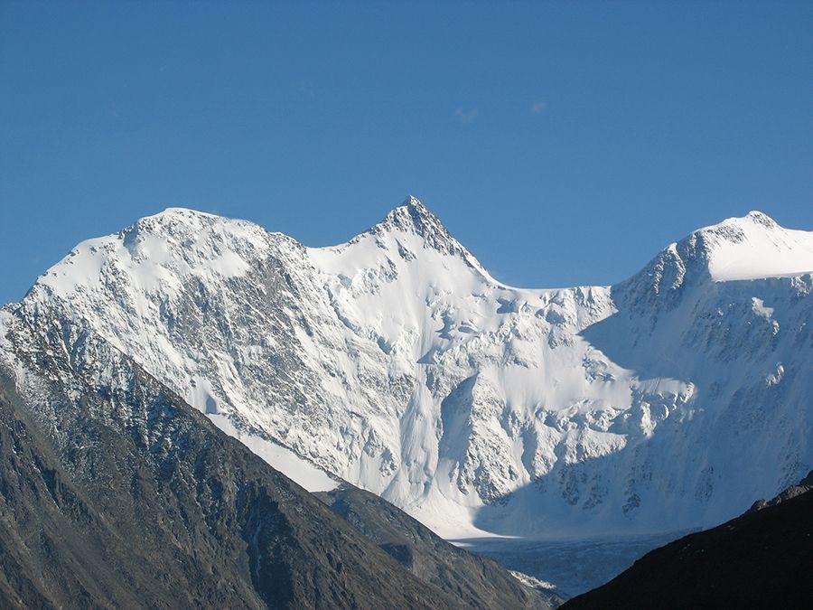 Фотография вершины горы Белуха