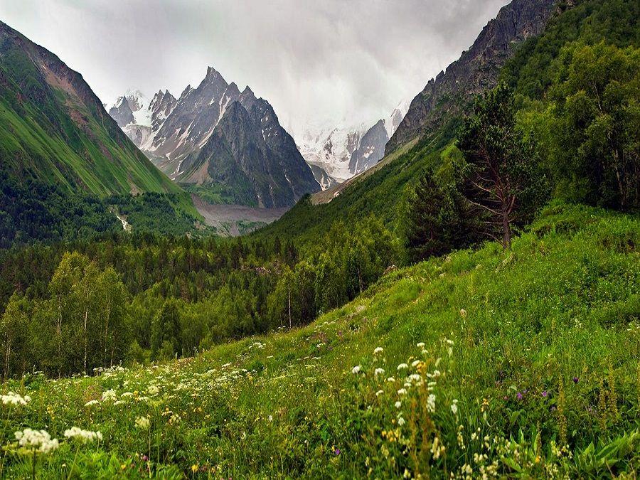 Фотография горы Чегет