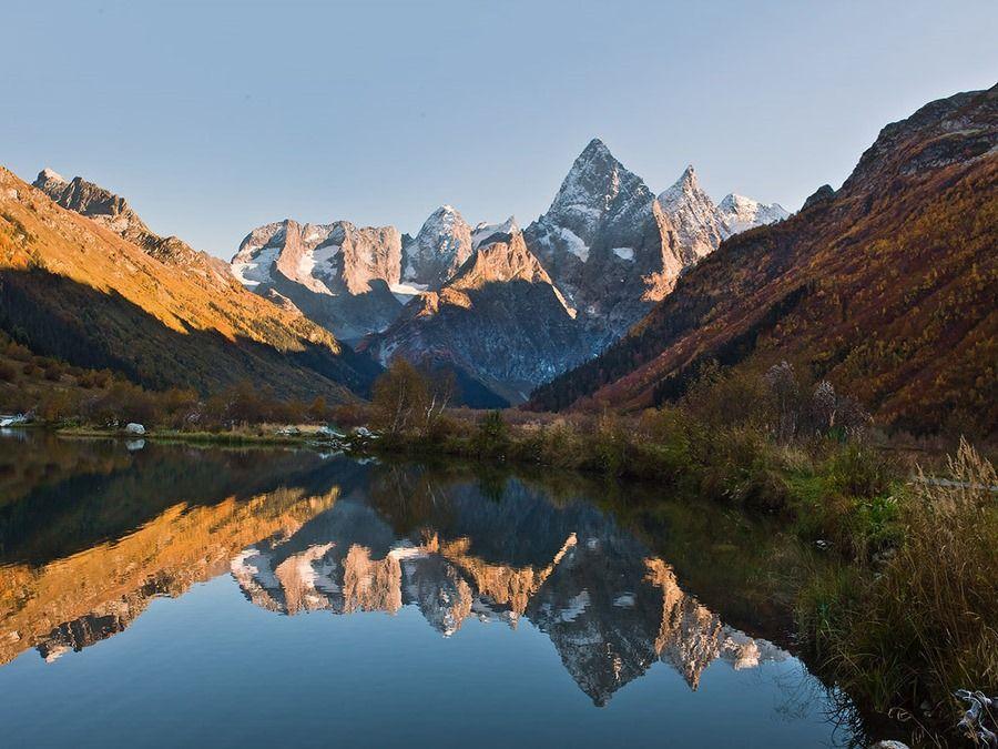 Фотография горы Чотча