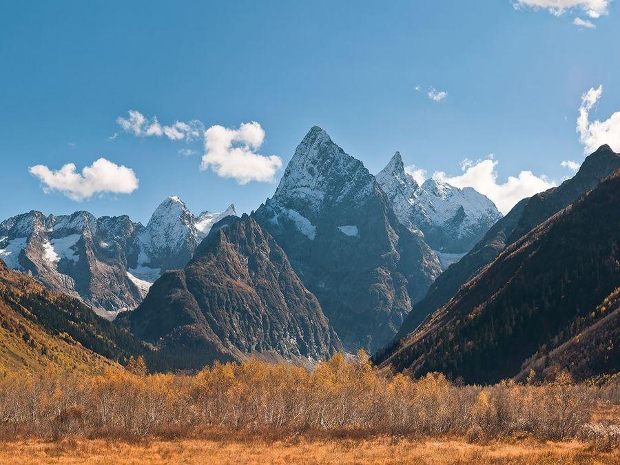 Фотография горы Чотча в Карачаево-Черкессии