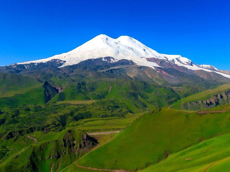Фотография горы Эльбрус в Кабардино-Балкарии