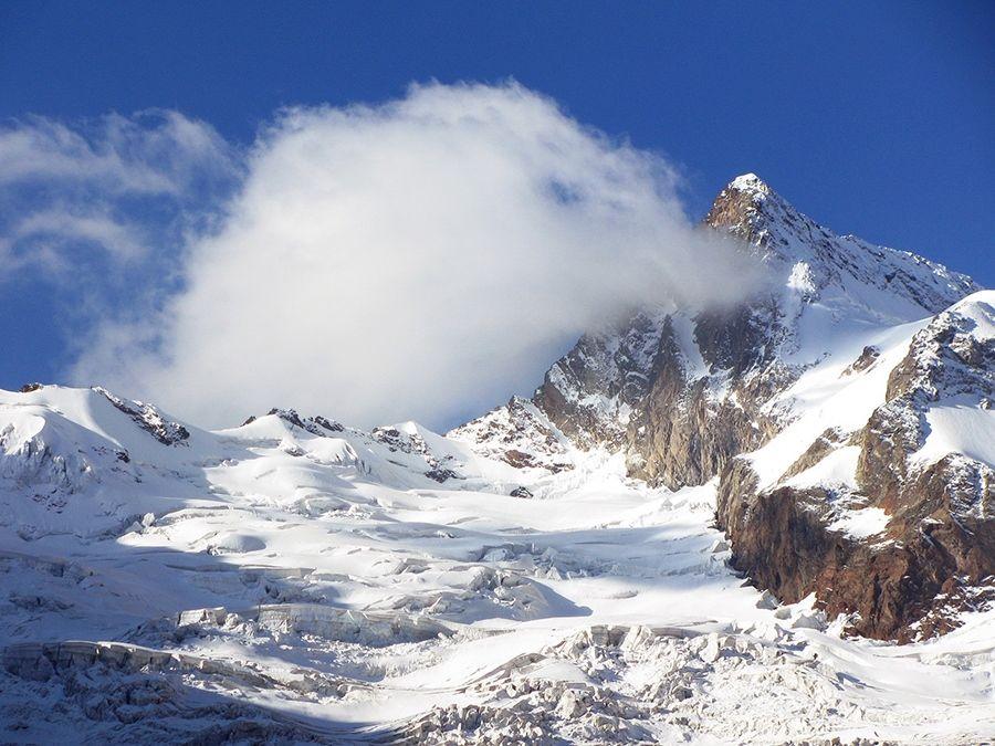 Фотография горы Эрцог в Карачаево-Черкессии