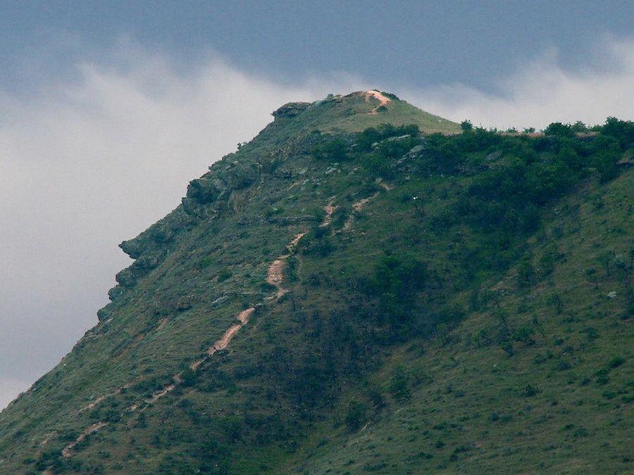 Фотография горы Пушкин-Тау в Дагестане