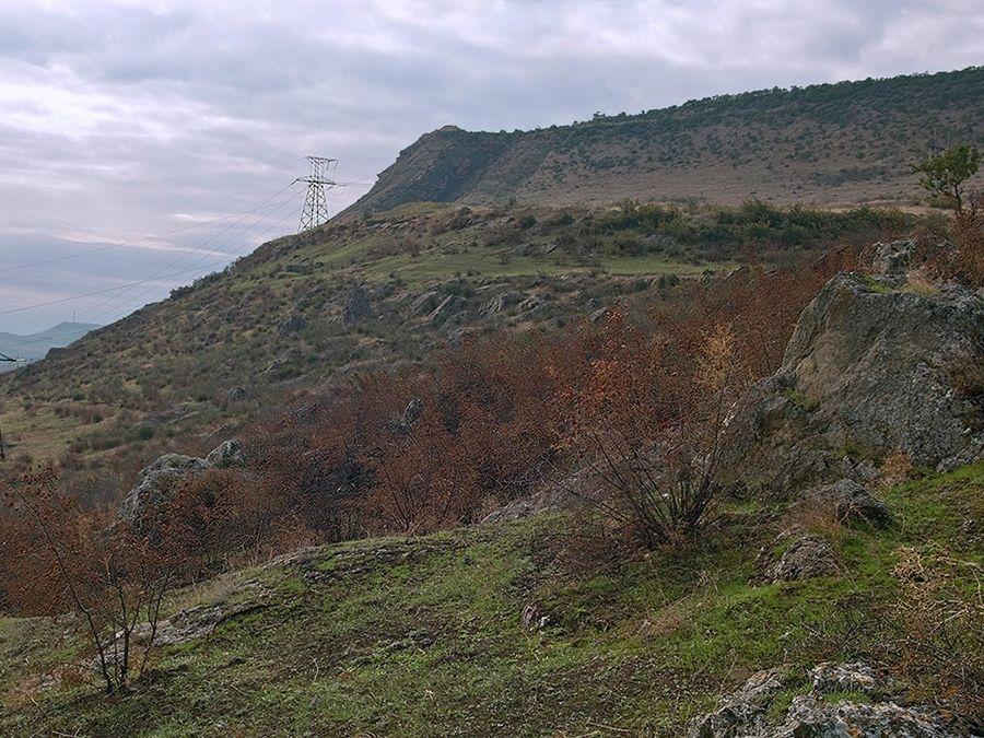 Фотография горы Избергтау в Дагестане