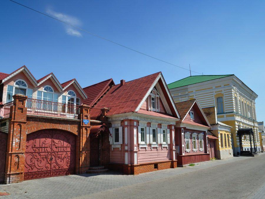 Архитектура города Городец в Нижегородской области фото