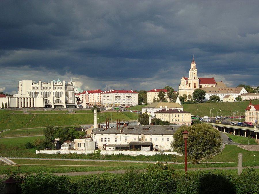 Фото панорамы Гродно