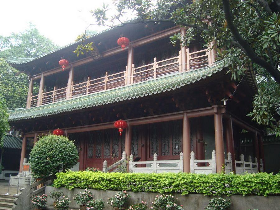 Фото красивой пагоды в Гуанчжоу