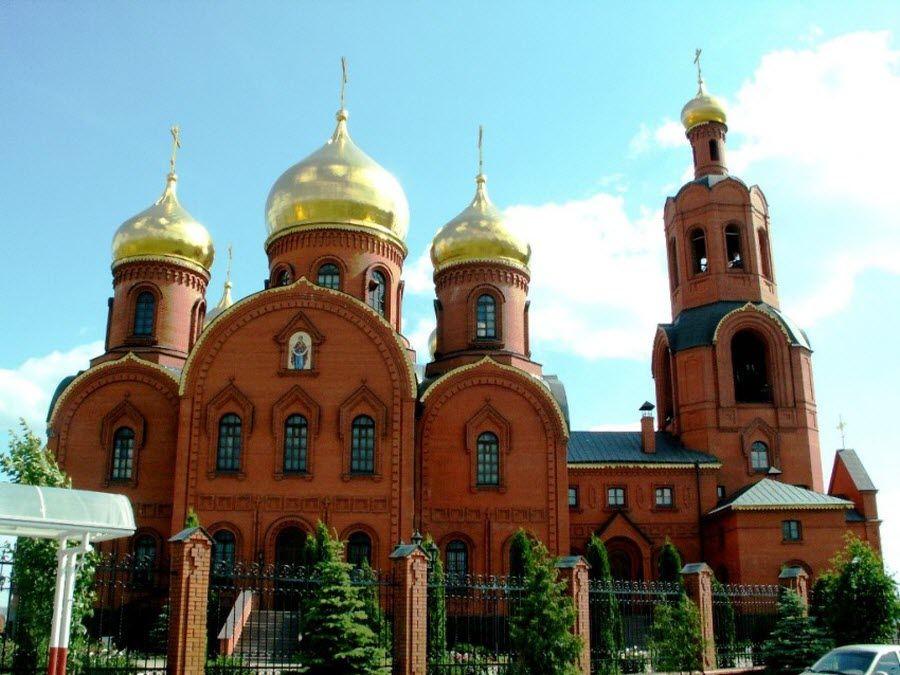 Губкинский Спасо-Преображенский собор фото