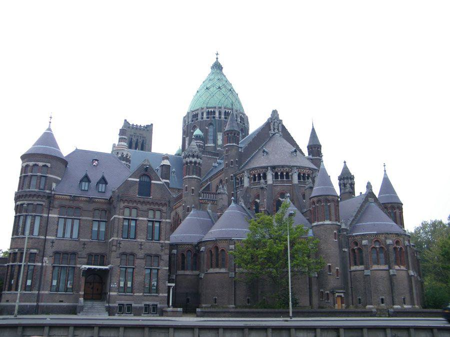 Город Харлем в Нидерландах