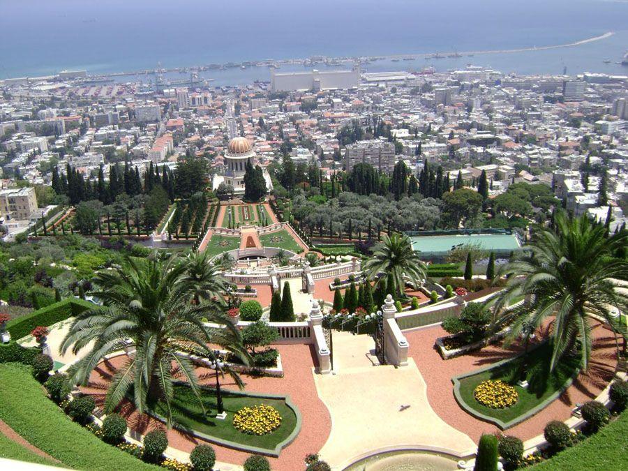 Фото города Хайфа