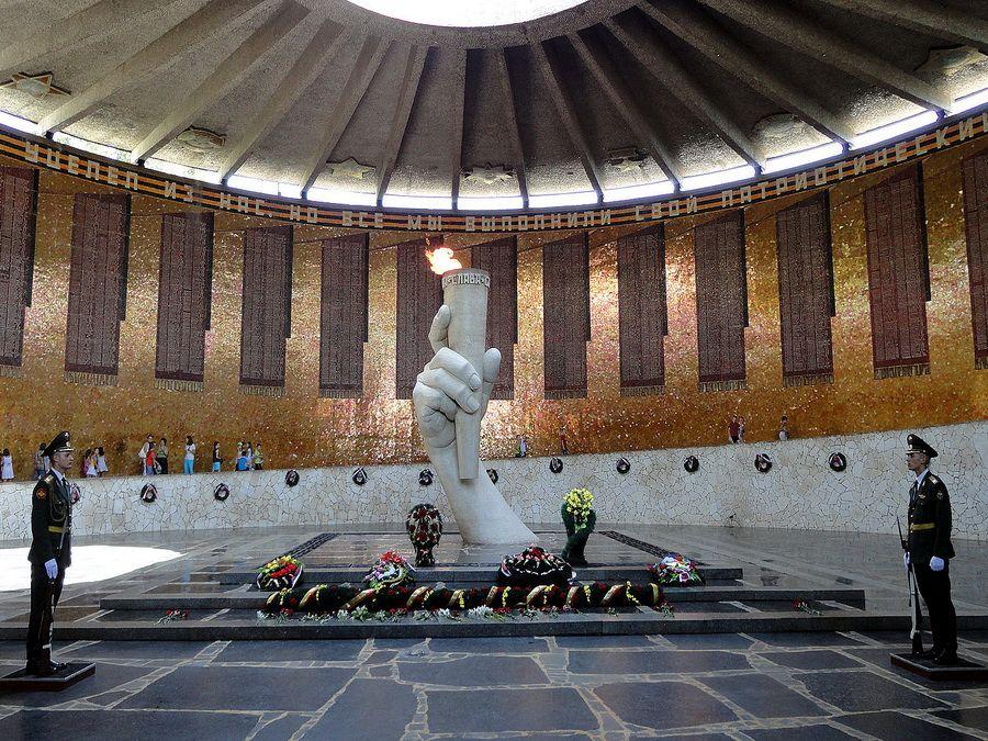 Фотография Зала воинской славы в мемориале Мамаев курган