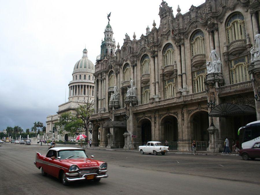 Фото зданий Гаваны в колониальном стиле