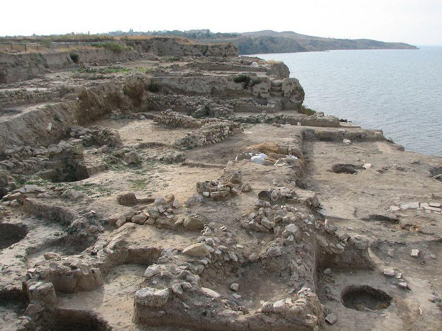 Фотография раскопок Гермонассы в Таманском районе