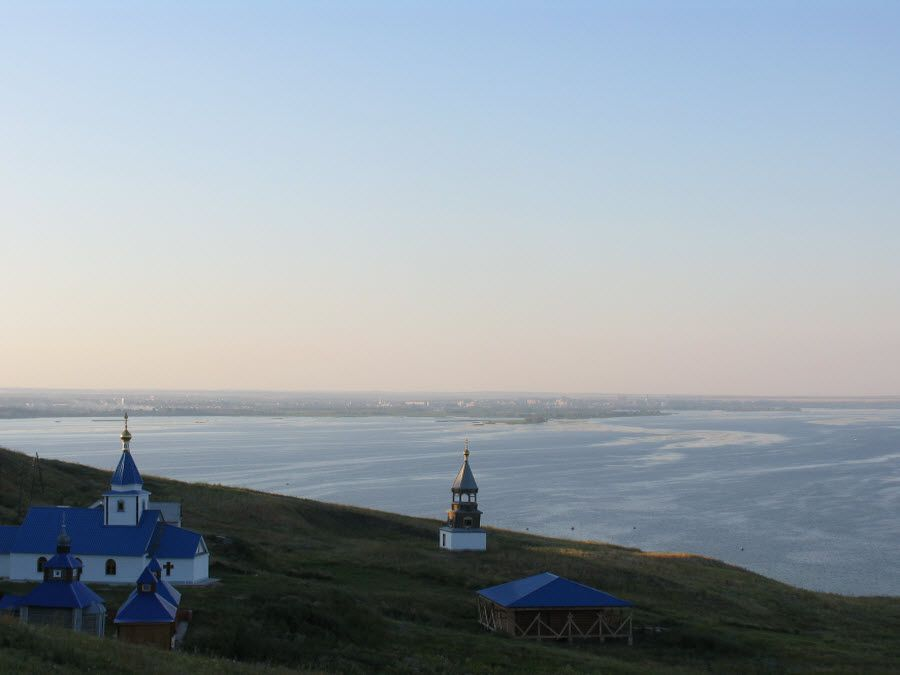 Панорама местности Свято-Вознесенского мужского монастыря фото