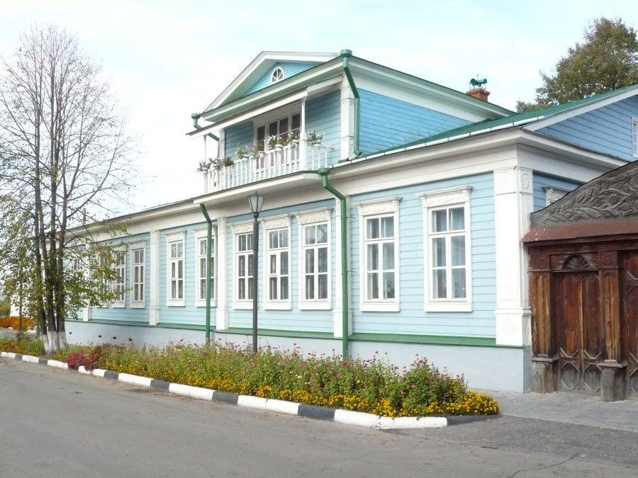 Дом графини Паниной в городе Городец Нижегородской области фото