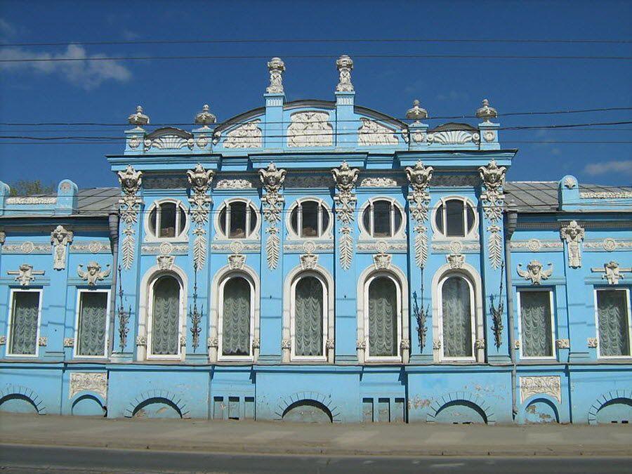 Фото дома Грибушина в Перми