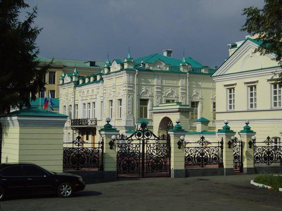 Усадьба Тарасова в Екатеринбурге