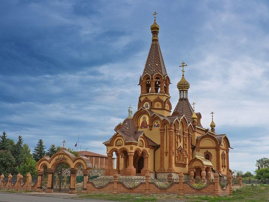 Фотография храма Святой великомученицы Екатерины