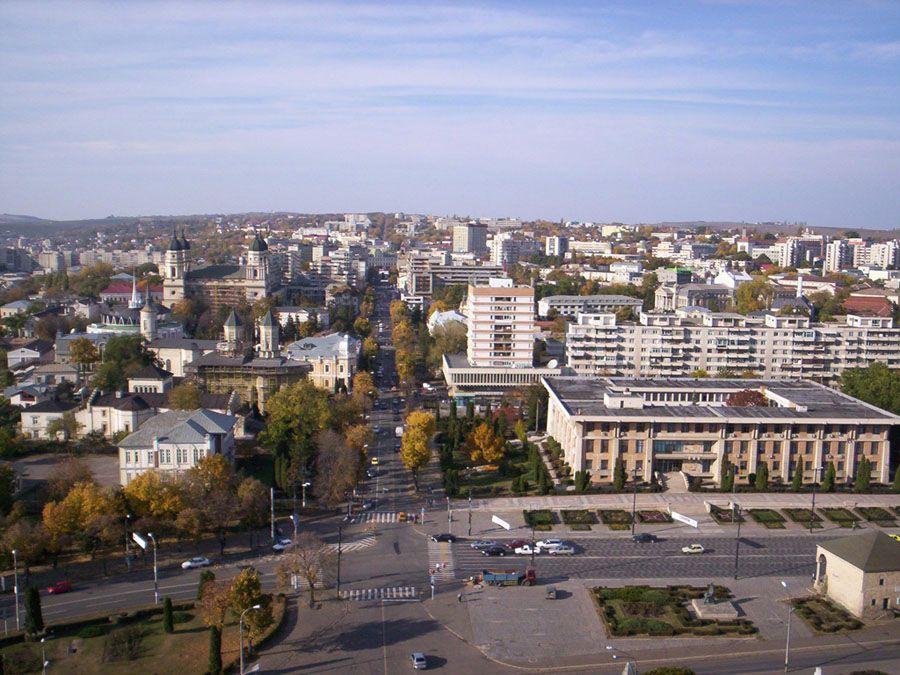 Вид на город Яссы фотография