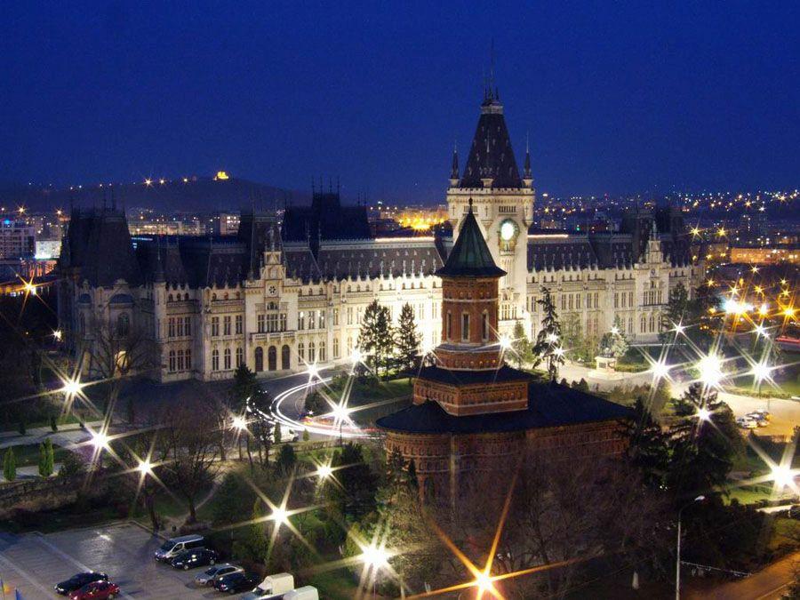 Фото Ночной город Яссы
