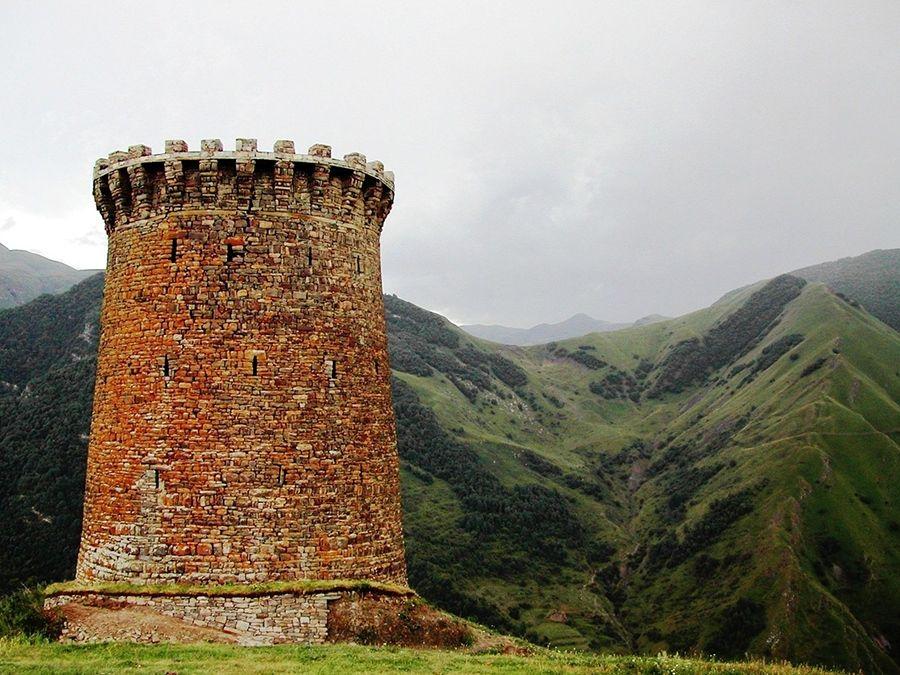 Фотография Ицаринской боевой башни