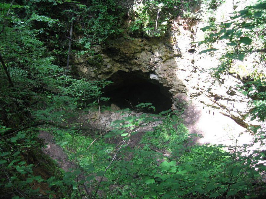 Ичалковская пещера в Нижегородской области снаружи фото