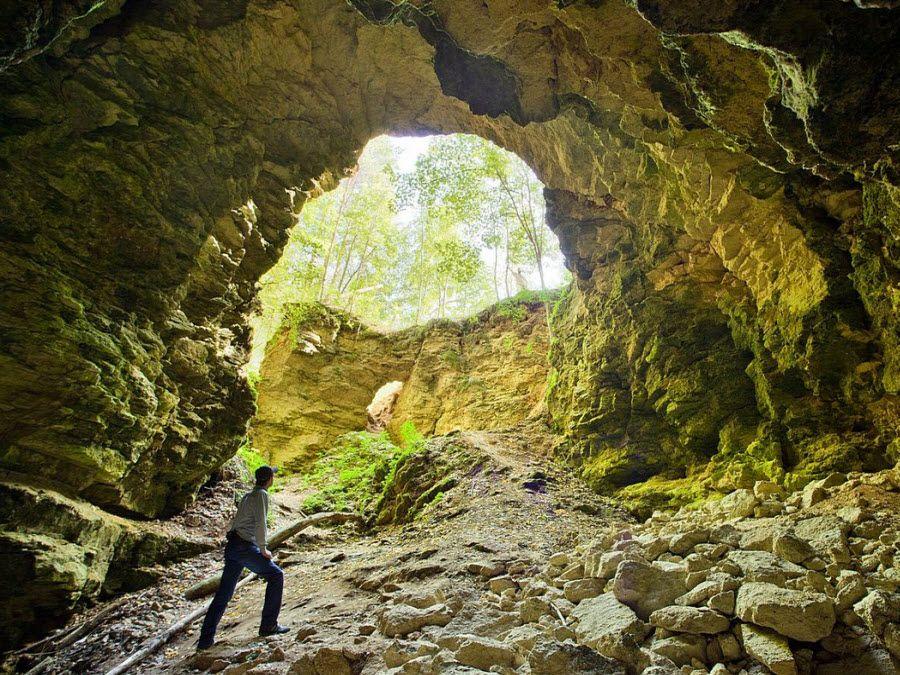 Ичалковская пещера в Нижегородской области фото
