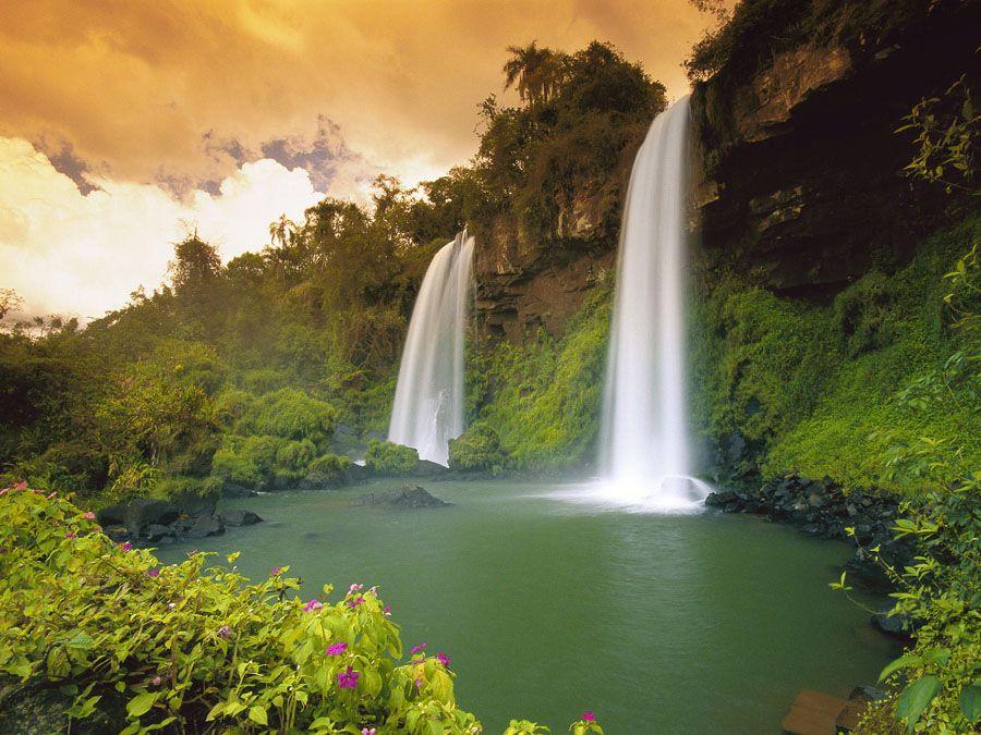 Национальный парк Бразилии Игуасу фото