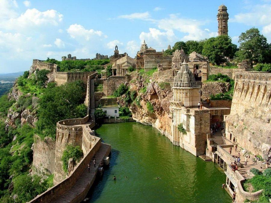 Фотография древнего города в Индии