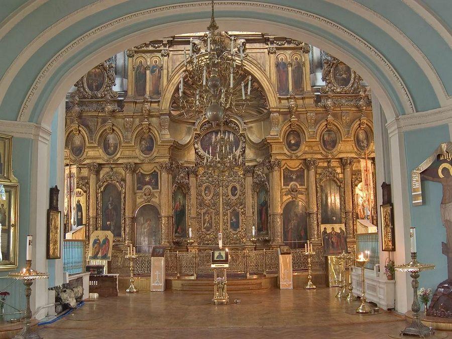 Интерьер Андреевского собора в Санкт-Петербурге фотография