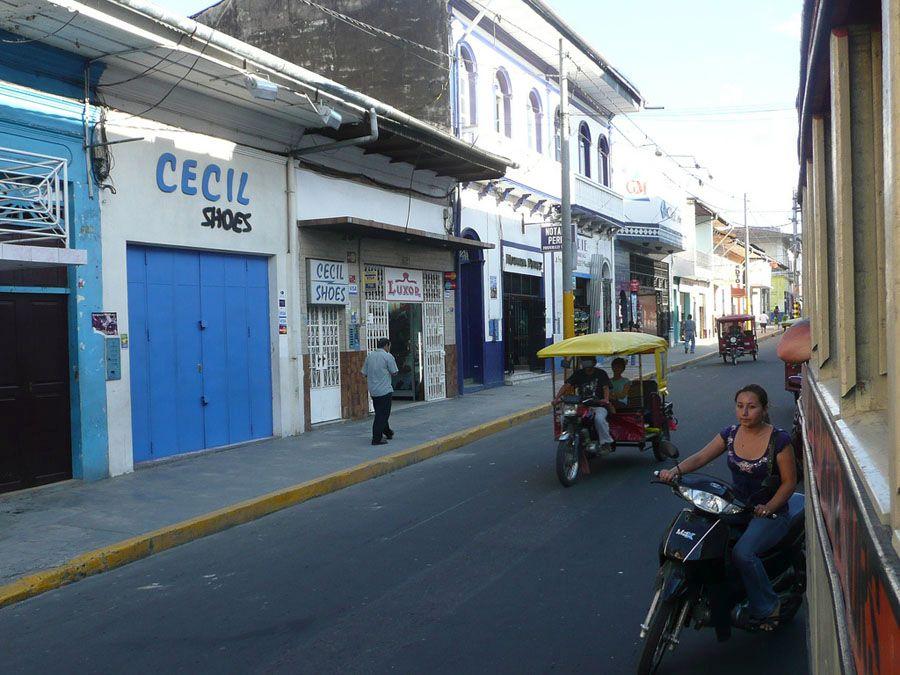 Фотография улицы города Икитос