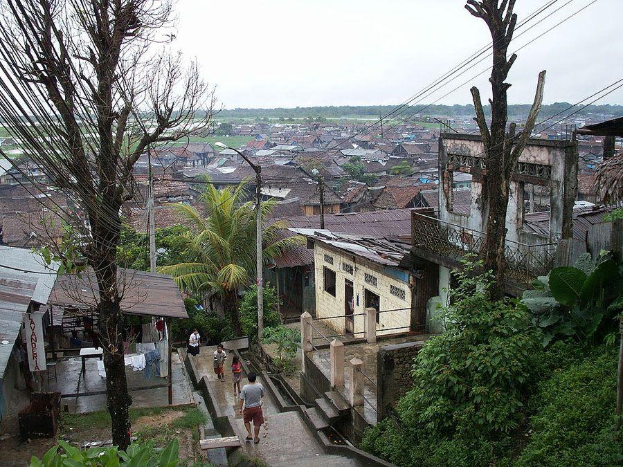 Город Икитос фото