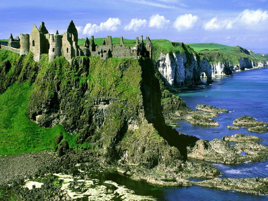 Фото ирландского пейзажа
