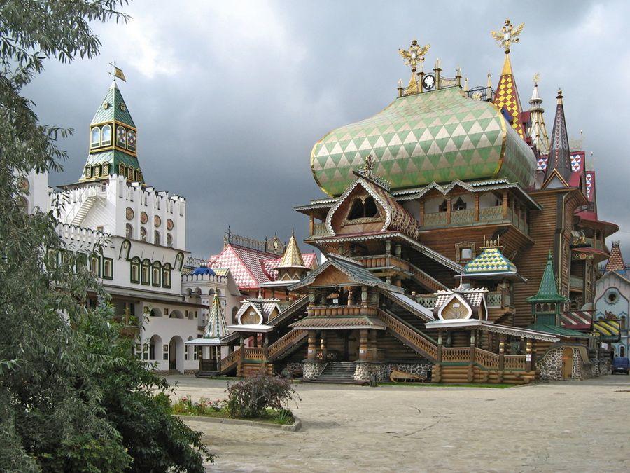 Восстановленный Измайловский Кремль фотографии музея-усадьбы
