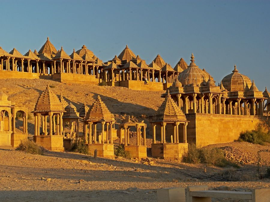 Фото дворца Джайсалмер, Индия