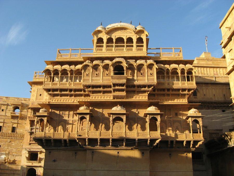 Дворец Джайсалмер в Раджастане фотография