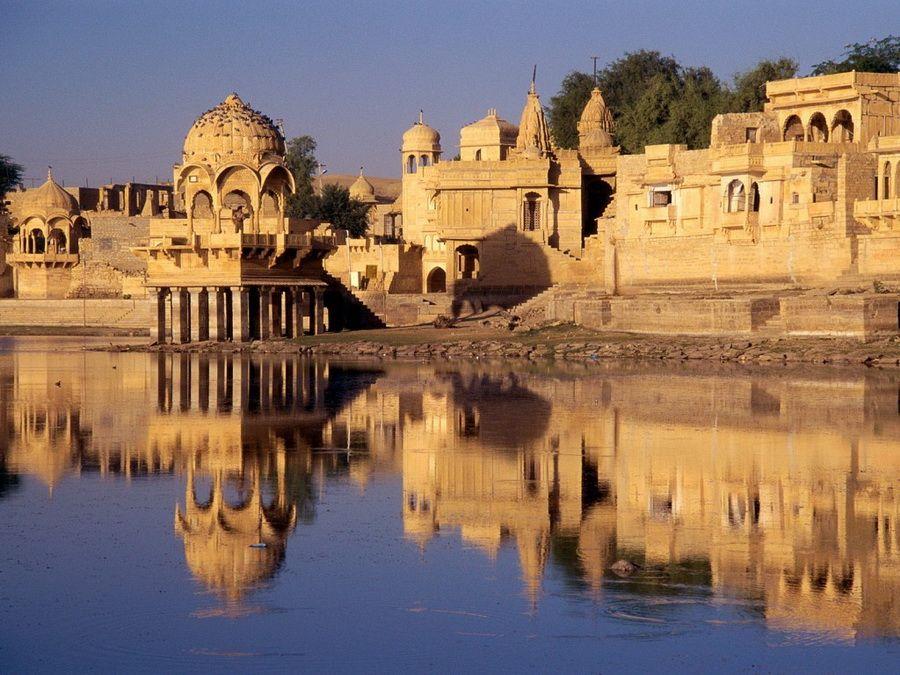Дворец Джайсалмер в Раджастане, фото Индии