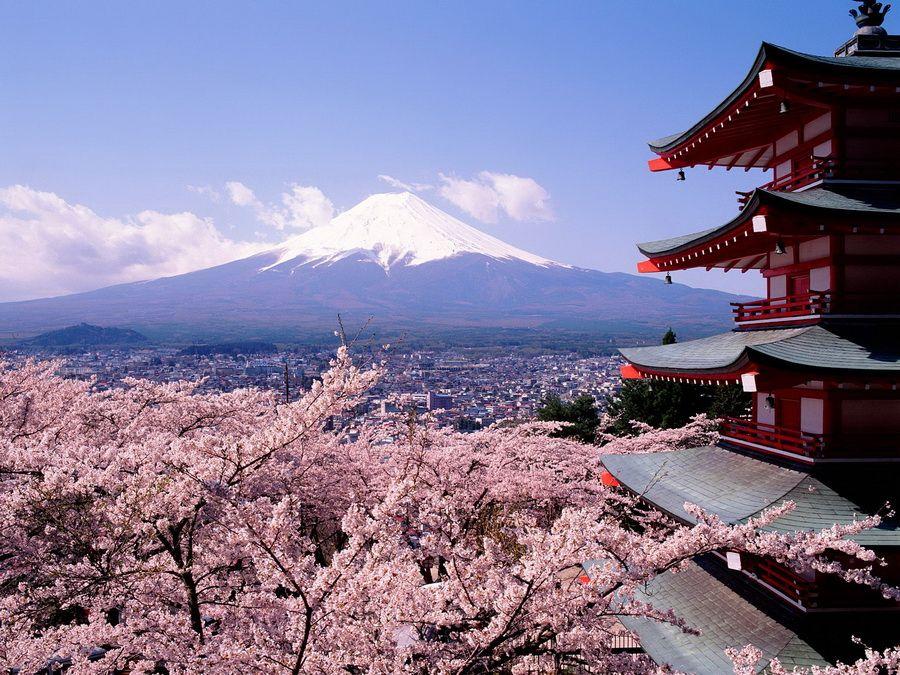 Фото японского пейзажа