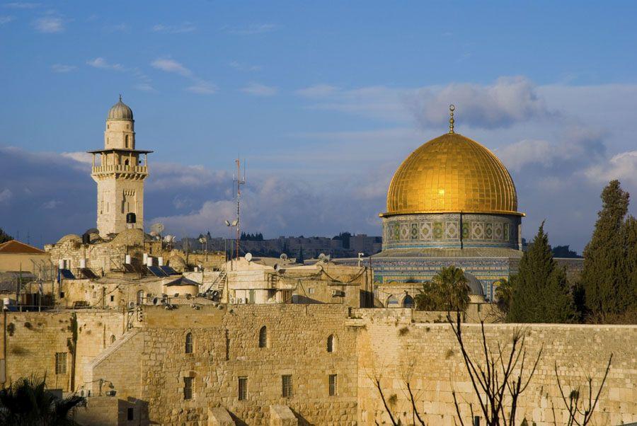 Старый город в Иерусалиме фото