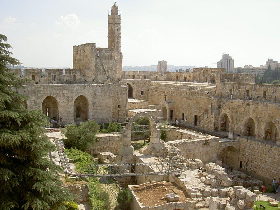 Башня Давида фотография