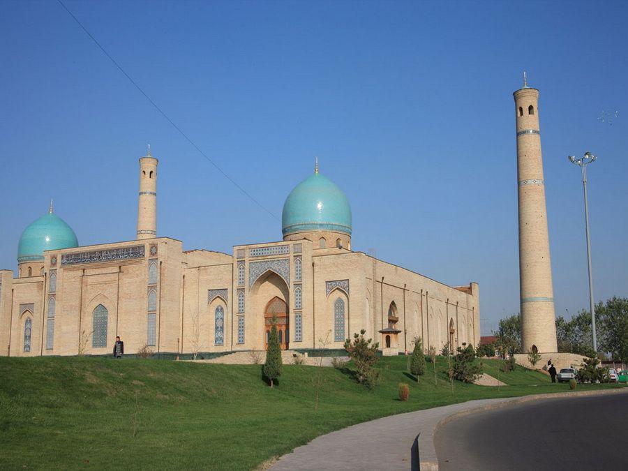 Джума-мечеть в столице Узбекистана фото