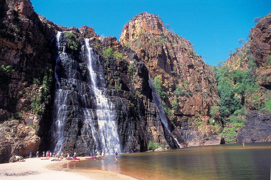 Фото водопада в парке Какаду