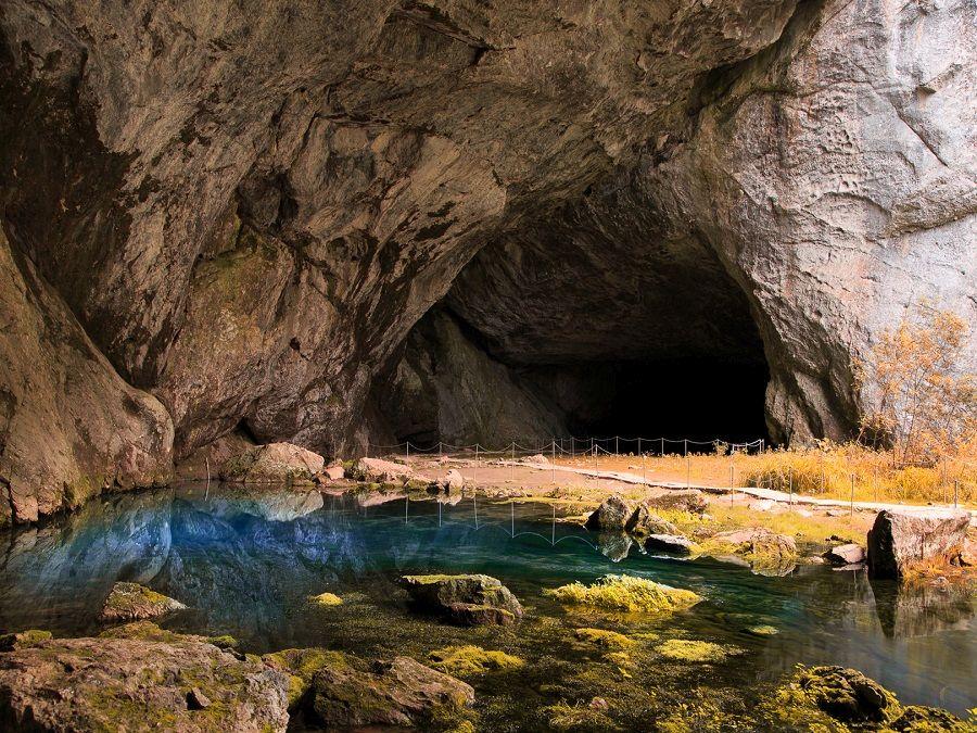 Фотография арки Портал в Каповой пещере