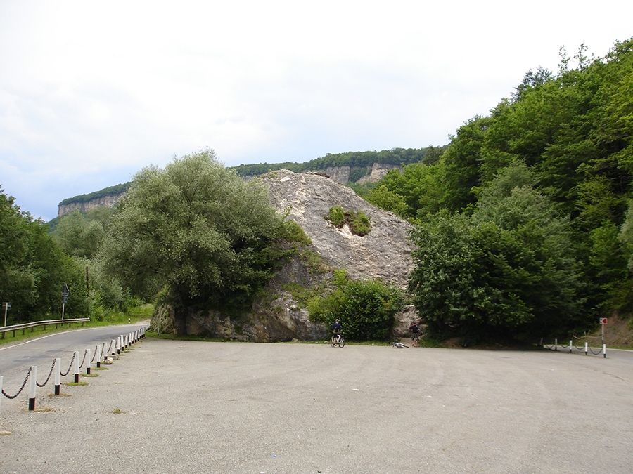 Фотография Казачьего камня в Адыгее