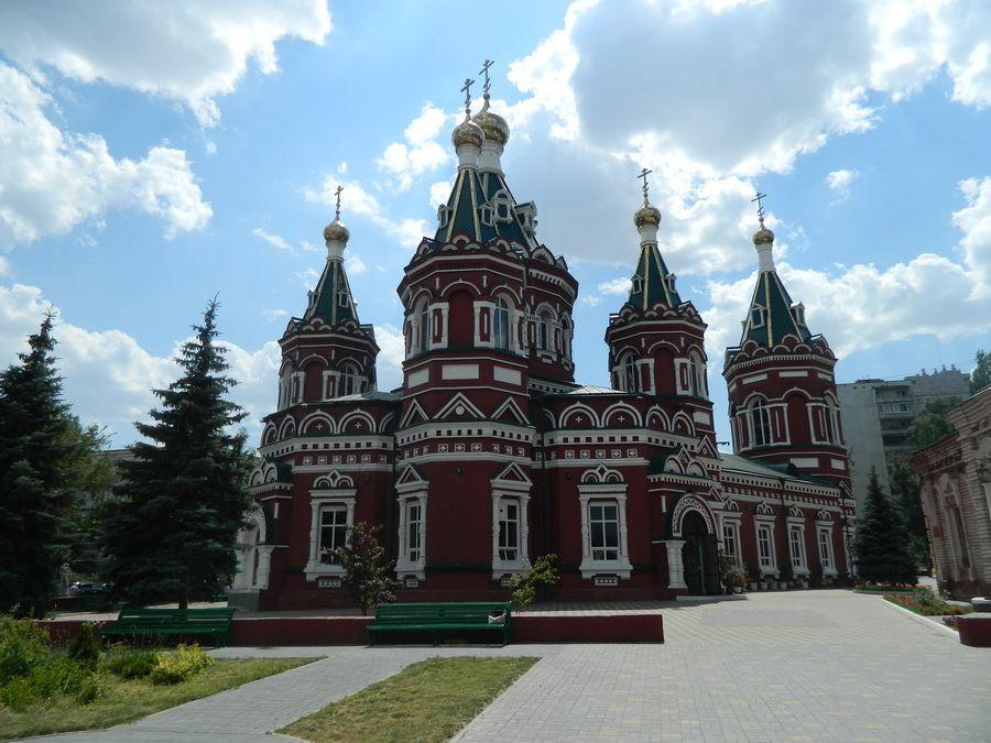 Фотография Казанского собора в Волгограде после реконструкции
